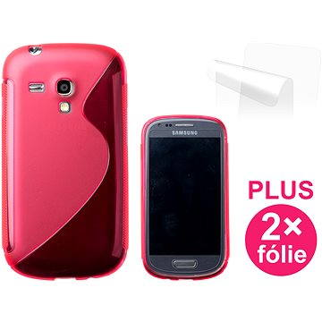 CONNECT IT S-Cover Samsung Galaxy S III Mini (i8190) červené (CI-336)