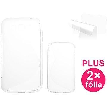 CONNECT IT S-Cover Samsung Galaxy Neo Plus Duos (GT-I9060I) čiré (CI-606)