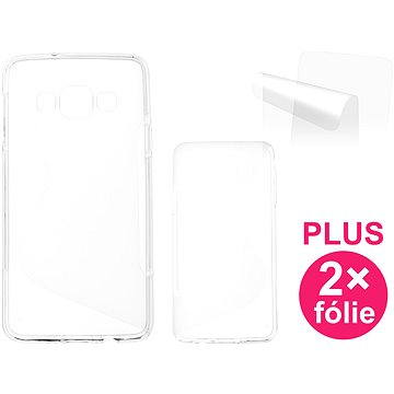 CONNECT IT S-Cover Samsung Galaxy A3 2015 (SM-A300F) čiré (CI-616)