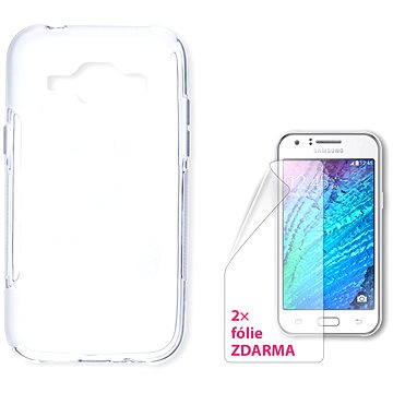 CONNECT IT S-Cover Samsung Galaxy J1/J1 Duos čiré (CI-741)