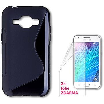 CONNECT IT S-Cover Samsung Galaxy J1/J1 Duos černé (CI-742)