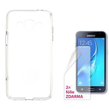 CONNECT IT S-Cover Samsung Galaxy J3/J3 Duos 2016 (SM-J320F) čiré (CI-1069)