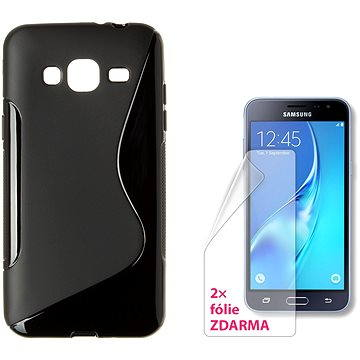 CONNECT IT S-Cover Samsung Galaxy J3/J3 Duos (2016) černé (CI-1070)
