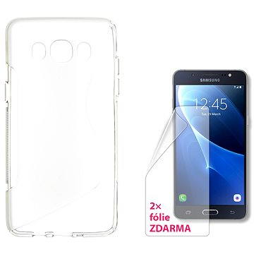 CONNECT IT S-Cover Samsung Galaxy J5/J5 Duos (2016) čiré (CI-1071)