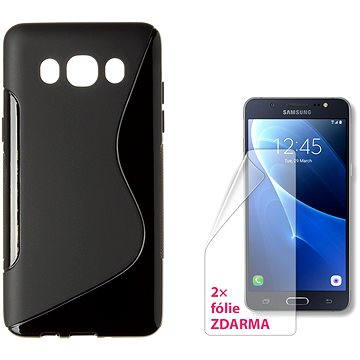 CONNECT IT S-Cover Samsung Galaxy J5/J5 Duos (2016) černé (CI-1072)