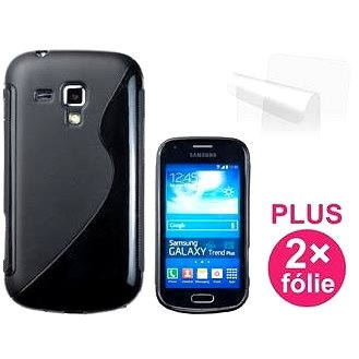 CONNECT IT S-Cover Samsung Galaxy Trend/ Trend PLUS černé (CI-338)