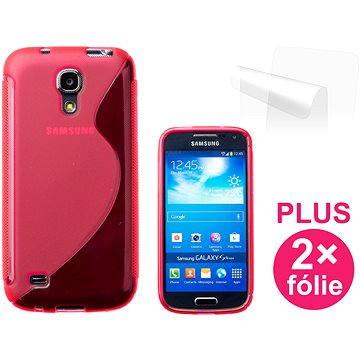 CONNECT IT S-Cover Samsung Galaxy S4 Mini (i9195) červené (CI-342)