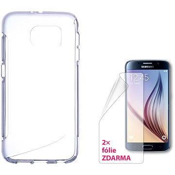CONNECT IT S-Cover Samsung Galaxy S6 čiré (CI-767)