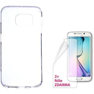 CONNECT IT S-Cover Samsung Galaxy S6 edge čiré (CI-769)