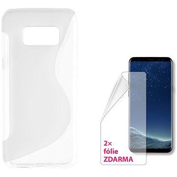 CONNECT IT S-Cover Samsung Galaxy S8 čiré (CI-1278)