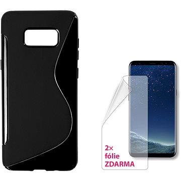 CONNECT IT S-Cover Samsung Galaxy S8+ (2017, SM-G955F) černé (CI-1311)
