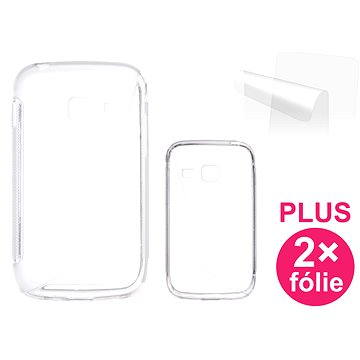 CONNECT IT S-Cover Samsung Galaxy Y Duos (S6102) čiré (CI-349)