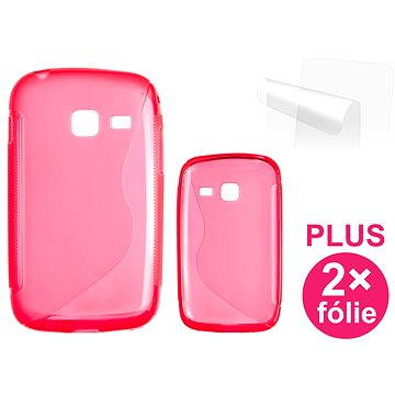 CONNECT IT S-Cover Samsung Galaxy Y Duos (S6102) červené (CI-351)