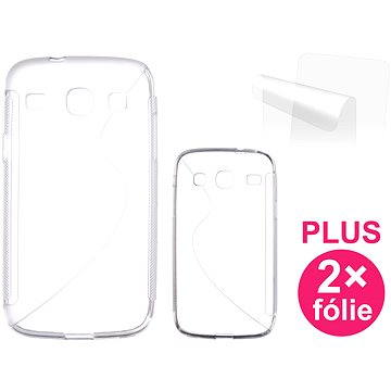 CONNECT IT S-Cover Samsung Galaxy Core Duos (i8262) čiré (CI-364)