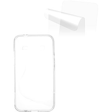 CONNECT IT S-Cover Samsung Galaxy Core Prime (SM-G360F) čiré (CI-612)