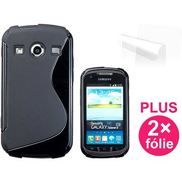 CONNECT IT S-Cover Samsung Galaxy Xcover 2 (S7710) černé (CI-368)