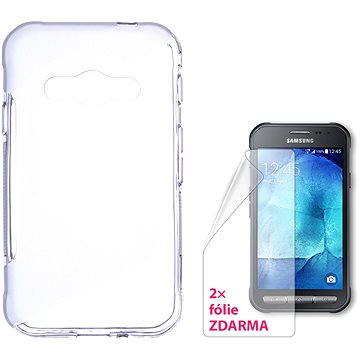 CONNECT IT S-Cover Samsung Galaxy Xcover 3 čiré (CI-743)
