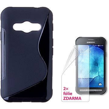CONNECT IT S-Cover Samsung Galaxy Xcover 3 černé (CI-744)