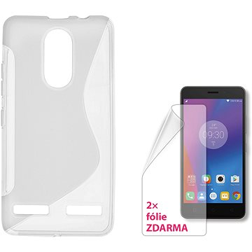 CONNECT IT S-COVER pro Lenovo K6 čiré (CI-1381)