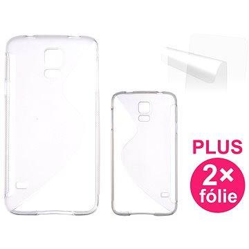 CONNECT IT S-Cover Samsung Galaxy S5/S5 Neo čiré (CI-407)