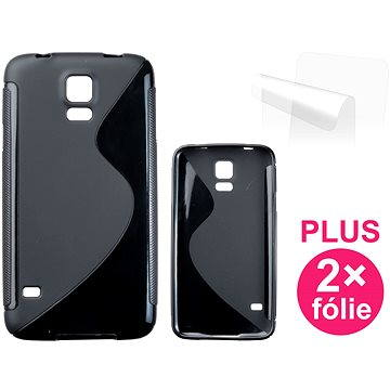 CONNECT IT S-Cover Samsung Galaxy S5/S5 Neo černé (CI-408)