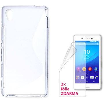 CONNECT IT S-Cover Sony Xperia M4 Aqua čiré (CI-719)