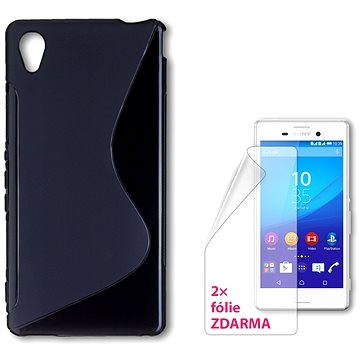 CONNECT IT S-Cover Sony Xperia M4 Aqua černé (CI-720)