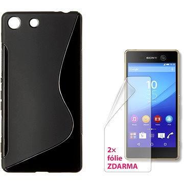 CONNECT IT S-Cover Sony Xperia M5 černé (CI-1084)