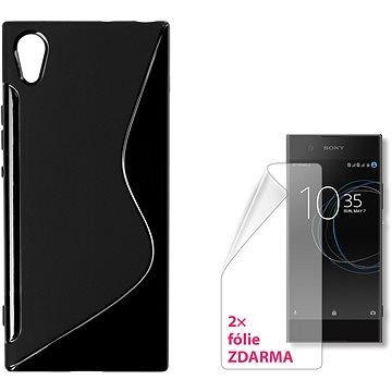 CONNECT IT S-Cover Sony Xperia XA1 černé (CI-1270)