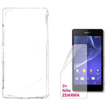 CONNECT IT S-Cover Sony Xperia Z2 čiré (CI-1085)