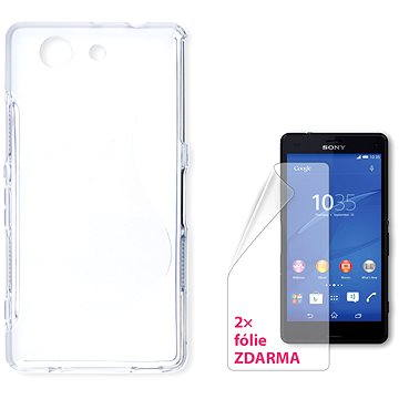 CONNECT IT S-Cover Sony Xperia Z3 Compact čiré (CI-723)