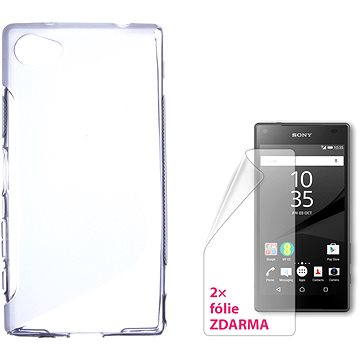 CONNECT IT S-Cover Sony Xperia Z5 Compact čiré (CI-897)