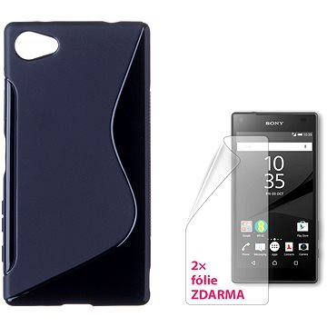 CONNECT IT S-Cover Sony Xperia Z5 Compact černé (CI-898)