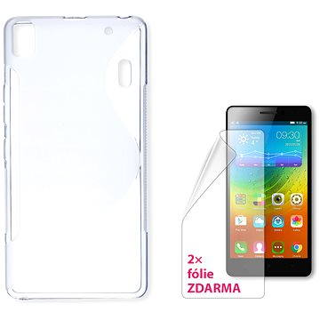 CONNECT IT S-Cover Lenovo A7000 čiré (CI-715)