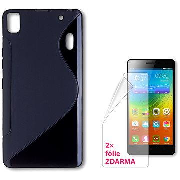 CONNECT IT S-Cover Lenovo A7000 černé (CI-716)