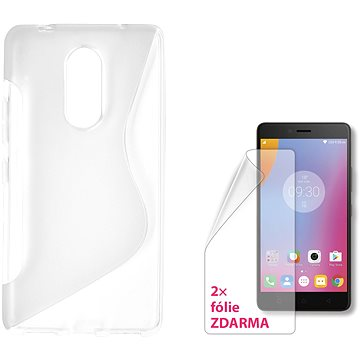 CONNECT IT S-COVER pro Lenovo K6 Note čiré (CI-1301)