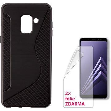 CONNECT IT S-COVER pro Samsung Galaxy A8 (2018, A530F) černé (CI-1420)