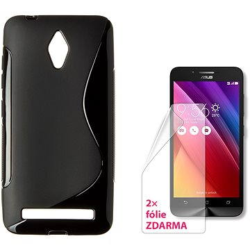 CONNECT IT S-Cover Asus Zenfone Go (ZC500TG) černé (CI-1096)