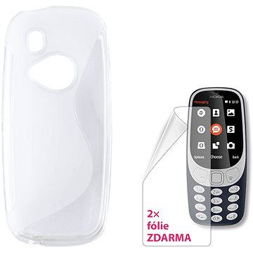 CONNECT IT S-COVER pro Nokia 3310 (2017) čiré (CI-1437)