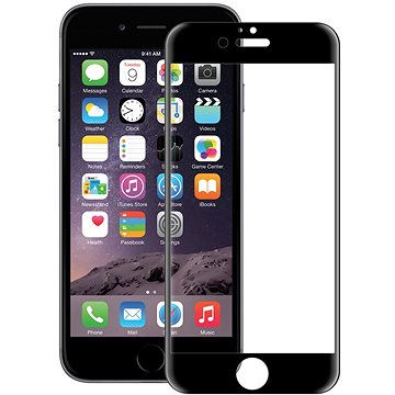 CONNECT IT Glass Shield 3D FULL COVER pro iPhone 6, černé (CI-1365)