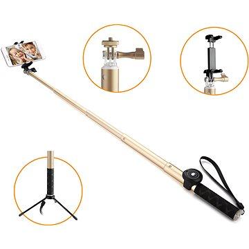Gogen BT Selfie 4 teleskopická zlatá (GOGBTSELFIE4G)
