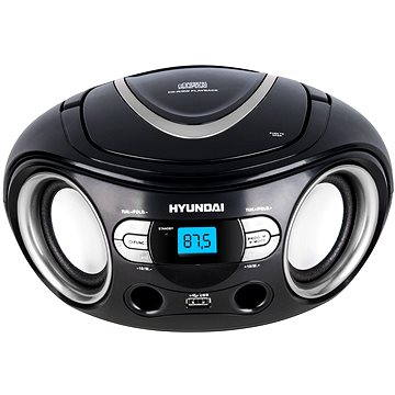 Hyundai TRC 533 černo-stříbrný (HYUTRC533AU3BS)