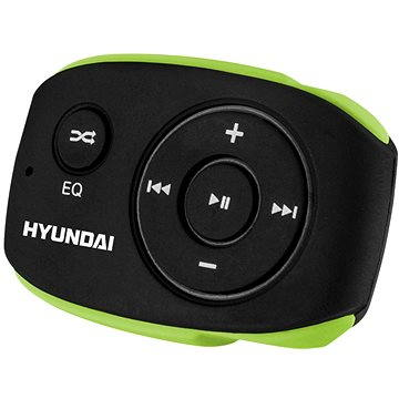 Hyundai MP 312 4GB černo-zelený (HYUMP312GB4BG)