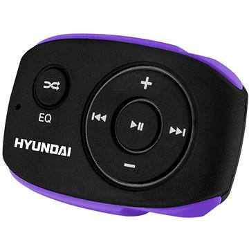Hyundai MP 312 8GB černo-fialový (HYUMP312GB8BP)