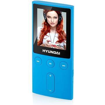 Hyundai MPC 501 FM 4GB modrý (HYUMPC501GB4FMBL)
