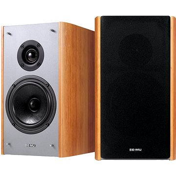 Creative Sound Blaster E-MU XM7 Bookshelf Speakers - hnědé (70EM911000001)