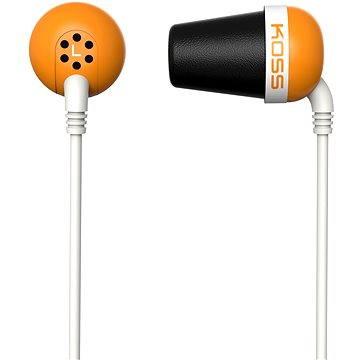 Koss THE PLUG oranžová (doživotní) (THE PLUG Orange)