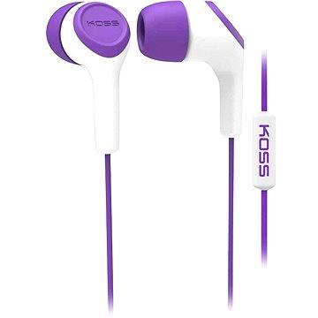 Koss KEB/15i fialová (doživotní) (KEB15i Purple)