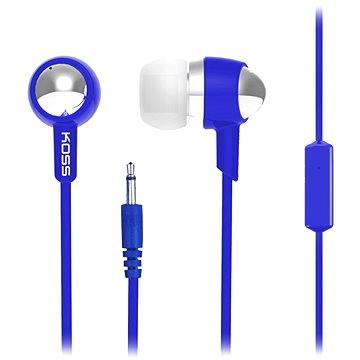 Koss KEB/30i modrá (doživotní) (KEB30i Blue)