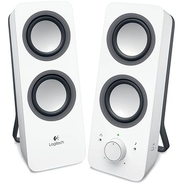 Logitech Multimedia Speakers Z200 bílé (980-000811)